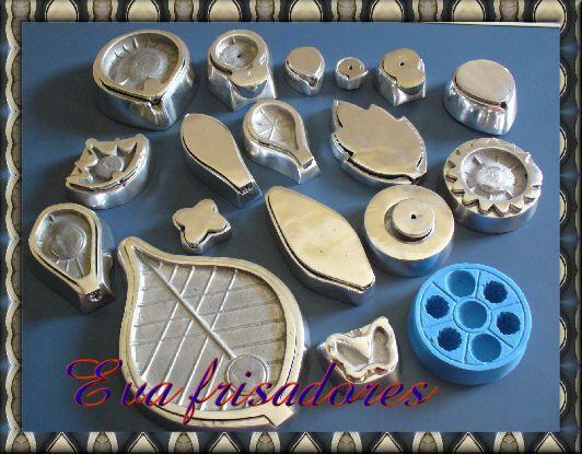 kit frisadores com 18 peças